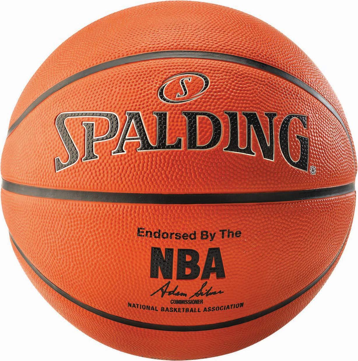 Ballon Spalding NBA Silver Outdoor: Amazon.es: Deportes y aire libre