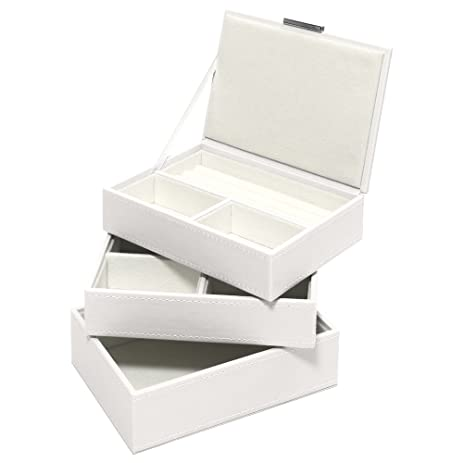 Amazoncom Swing Design 3 Piece Nova Stacking Jewelry Box Small