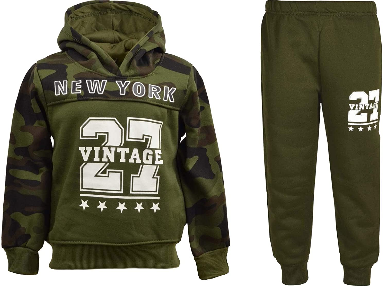 f3e2f1bfd4 Rag Rebels Boys Tracksuits - Camouflage Army Print Design - Ages 3 ...