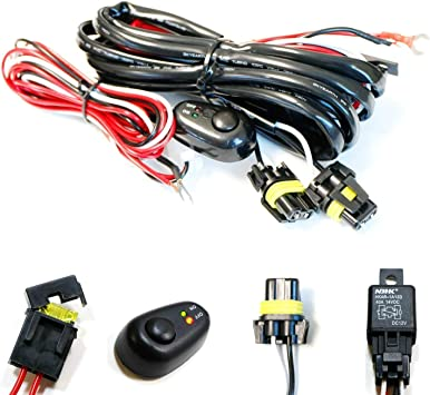 [DHAV_9290]  Amazon.com: iJDMTOY (1) 9005 9006 H10 Relay Harness Wire Kit with LED Light  ON/OFF Switch Compatible With Aftermarket Fog Lights, Driving Lights, Xenon Headlight  Lighting Kit, LED Work Lamp, etc: Automotive | 2007 Wrx Fog Light Wiring Harness |  | Amazon.com