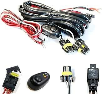 1974 dodge challenger wiring harness amazon com ijdmtoy  1  9005 9006 h10 relay harness wire kit with  9005 9006 h10 relay harness wire kit