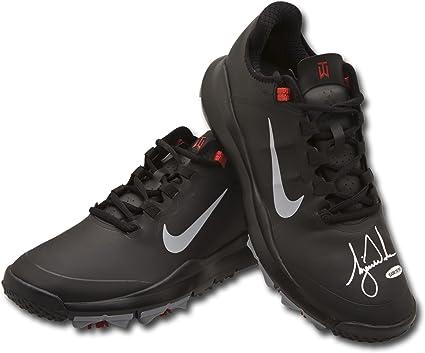 Tiger Woods Autographed Nike Black