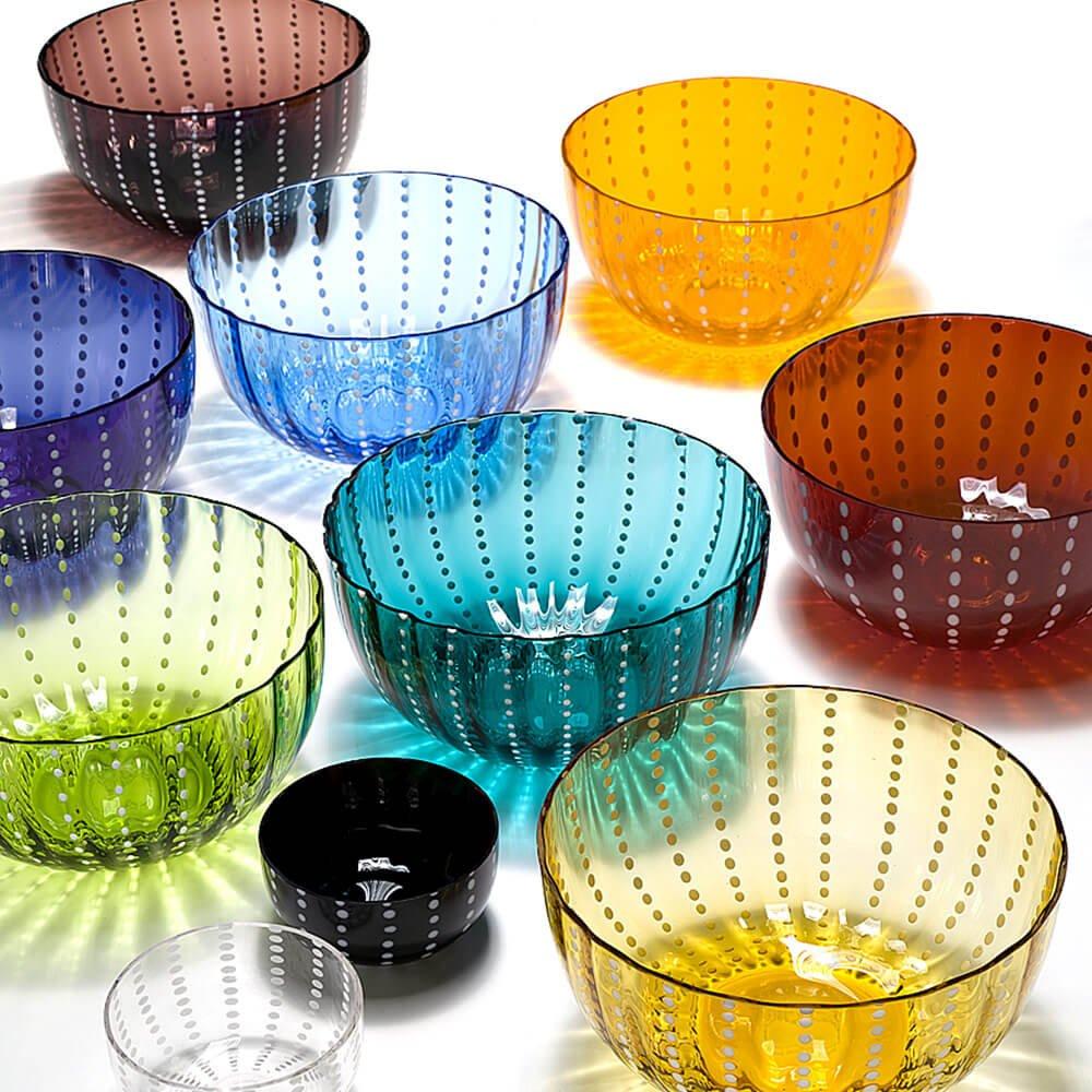 Zafferano Perle Set 6 Sch/üsseln verschiedenen Farben