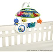 Baby Einstein Sweet Sea Dreams Mobile (Includes 4-pk Energizer C Batteries)