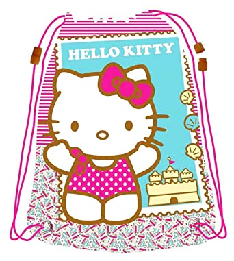 4eb8d037bbba Girl rsquo s Waterproof Rucksack for Sport Swimming Pool Hello Kitty Pink  44 ...