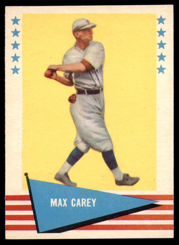MAX CAREY Perez Steele Hall Of Fame Postcard