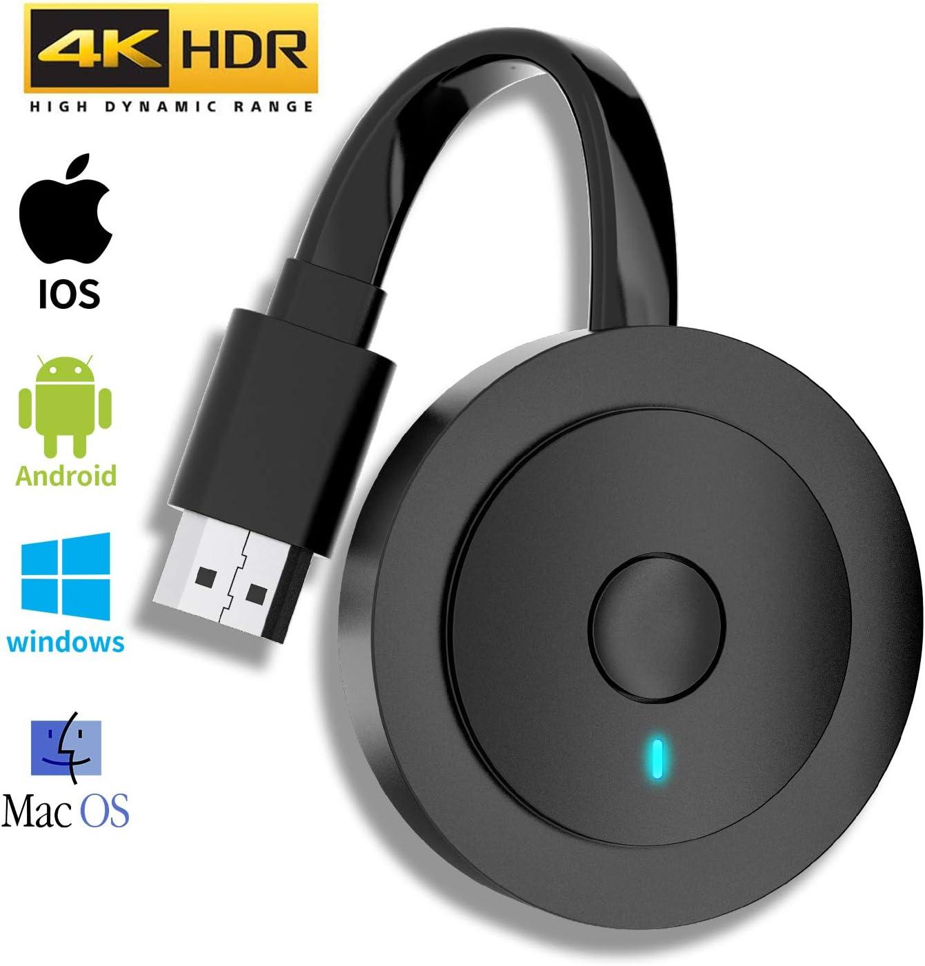 MPIO Wireless HDMI 4K HDR WiFi HDMI Dongle Streaming für Android ...