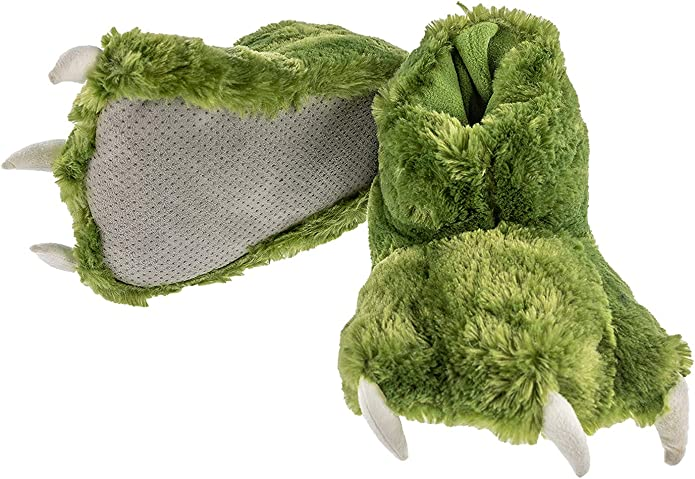 Dinosaur Paw Slippers