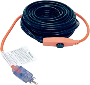 M-D Building Products 4309Pipe Heating Cable with Thermostat, 3-Foot