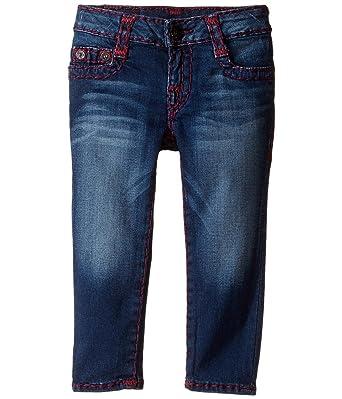 True Religion Kids Baby Girl s Casey Super T Jeans (Toddler Little Kids)  Heather ce3e45a64