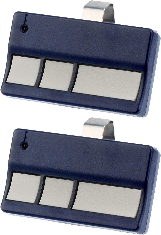 Garage Door Remote Opener for Liftmaster 973LM Chamberlain 950CB 953CB - 2 Pack
