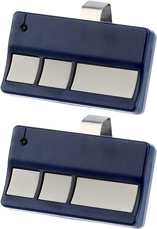 Garage Door Remote Opener for Liftmaster 973LM Chamberlain 950CB 953CB 2 Pack