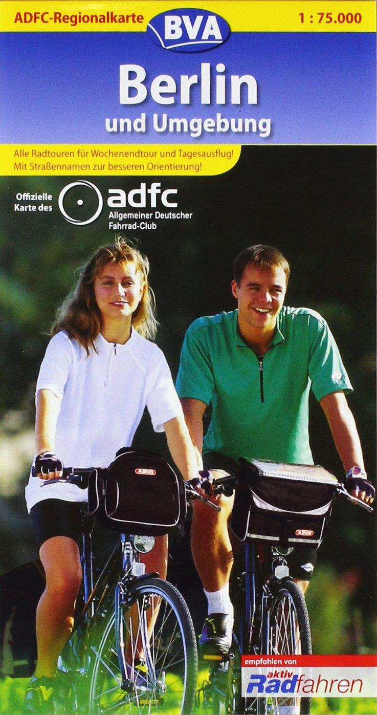 ADFC Regionalkarten, Berlin und Umgebung