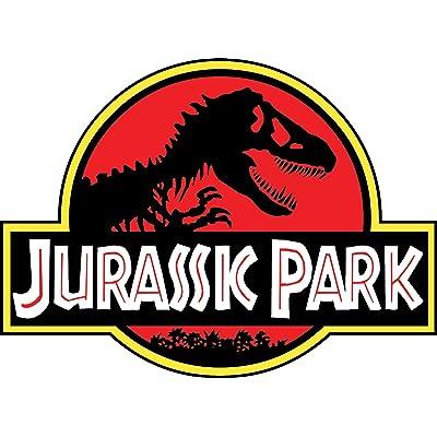 "JURASSIC PARK 4""x5"" Sticker Decal Vinyl Jeep Safari Dinosaur: Automotive"