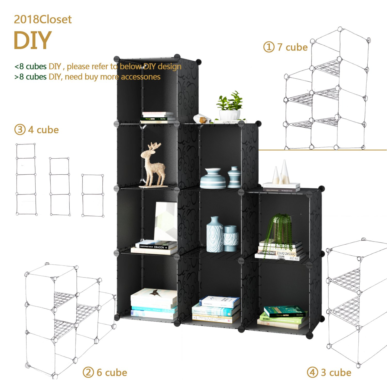 Nice Wire Closet Shelf Dividers Amazon Gallery - Everything You ...