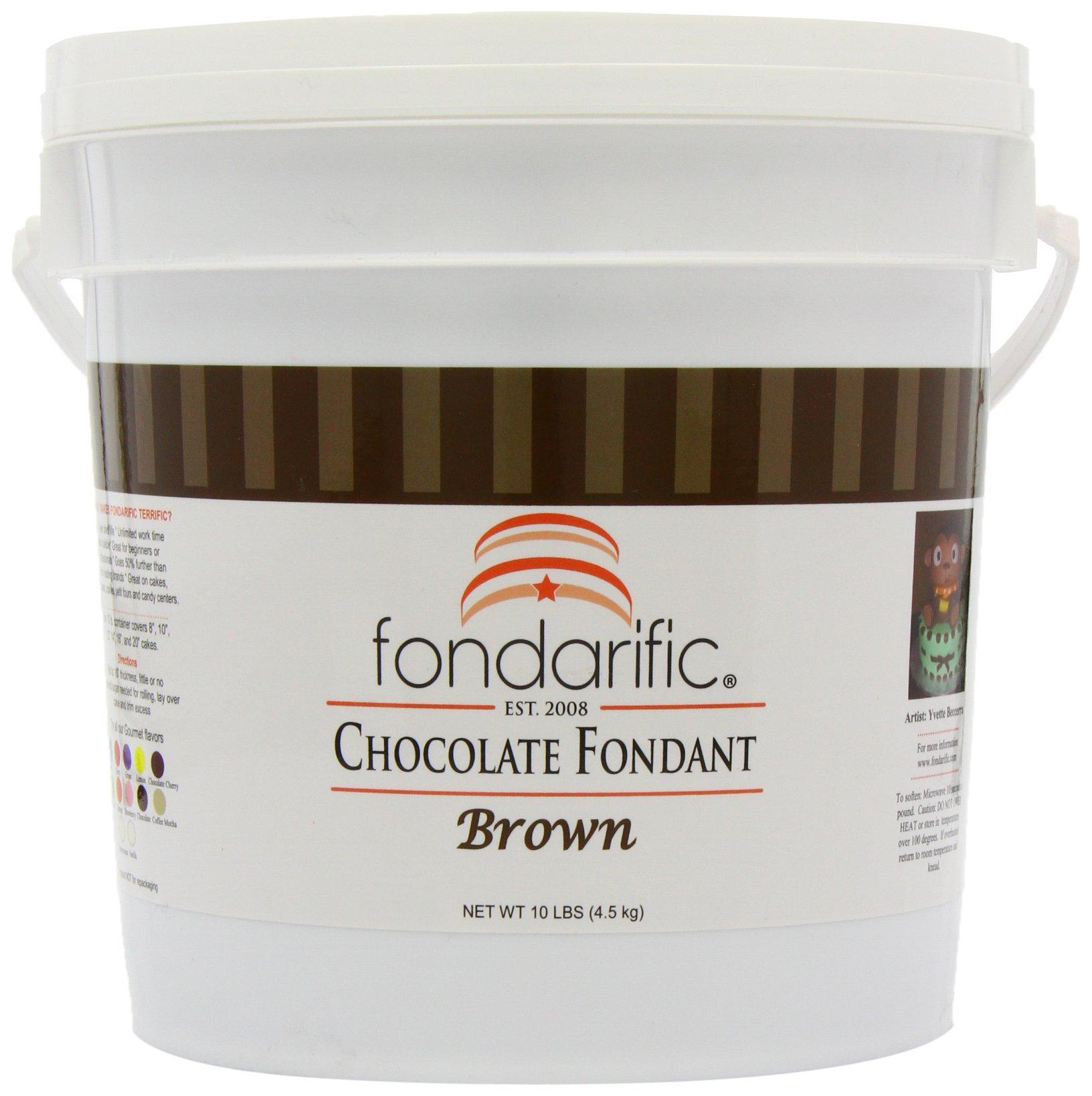 Fondarific Chocolatey Fondant, 10-Pounds