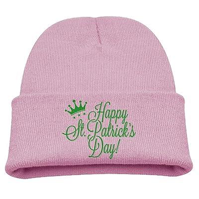 D8s Caps Saint Patrick's Day Crown Kids SOF Hat Cute Cotton Cap Beanies