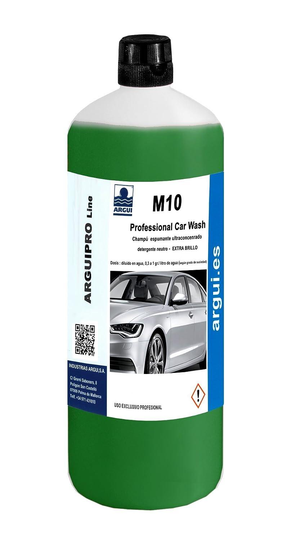 ARGUIPRO Line M10 - Detergente Neutro Extra Brillo para Coche, 1 l argui.es 8428574000295