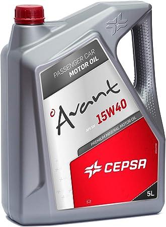 CEPSA 512603073 Mineral Aceite de Motor, 5 litros: Amazon.es ...
