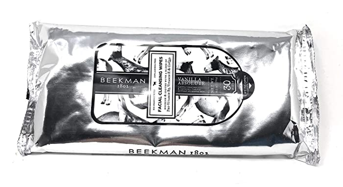Beekman 1802 30-count Vanilla Absolute Facial Cleansing Wipes