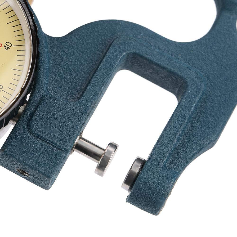 Calibro di spessore 0-10mm di alta precisione puntatore display calibro misuratore di spessore strumento industriale grado alta precisione