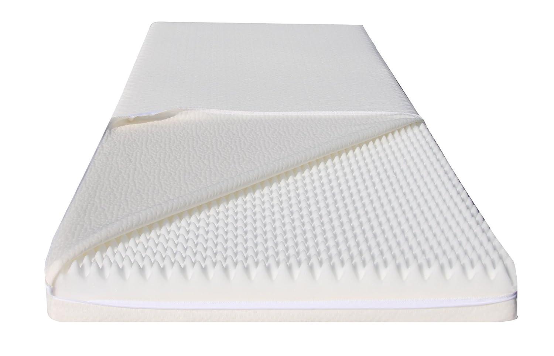 Colchón sottocosto individual, 100 x 200, ortopédico y antialérgica, Poliuretano espuma, expandido, colchón extra Comfort, colchón transpirable, ...