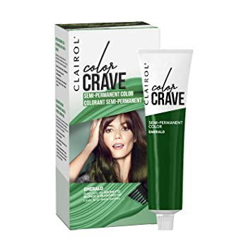 Amazon Clairol Color Crave Semi Permanent Hair Color Emerald