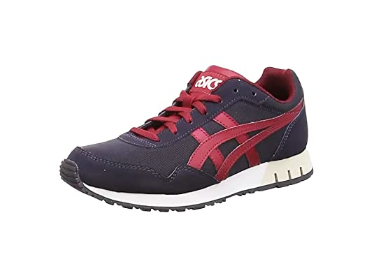 ASICS Herren Curreo Low-top, schwarz/Royalblau/pink, 37.5 EU: Amazon ...