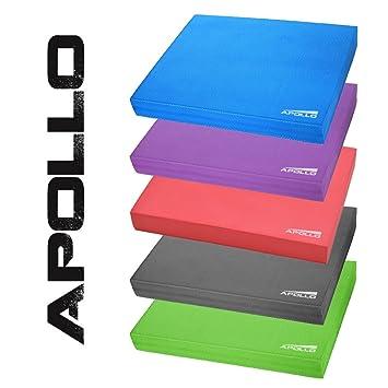 Apollo Balance Pad, colchoneta de Coordinación 24x38x6cm, para el Fitness, Yoga y Pilates …