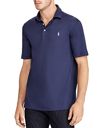 ecc1f927055 Image Unavailable. Image not available for. Color  POLO Ralph Lauren  Soft-Touch Classic Fit (French Navy ...