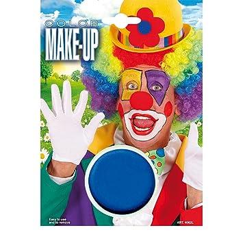 Net Toys Schlumpf Schminke Karneval Make Up Blau Theaterschminke