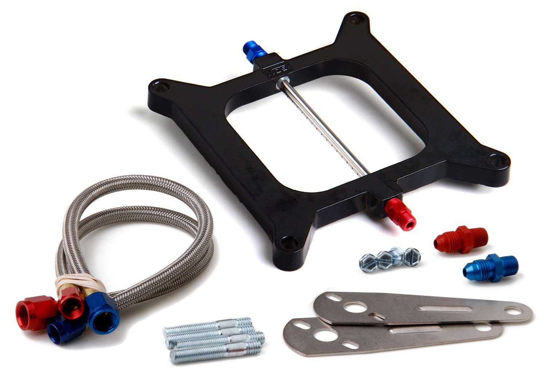 NOS 12510 Big Shot Aluminum Injector Plate Kit NOS/Nitrous Oxide System 12510NOS