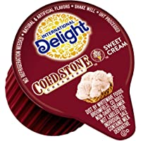 International Delight Coffee Creamer Singles, Cold Stone Creamery Sweet Cream, 288 Count