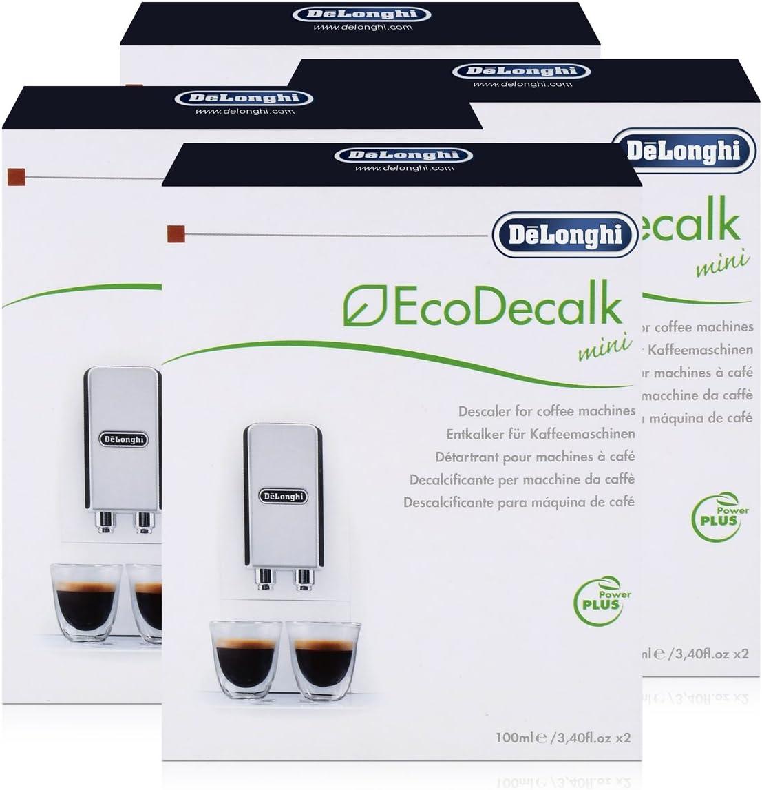DeLonghi EcoDecalk - Descalcificador para cafeteras (8 Unidades x ...