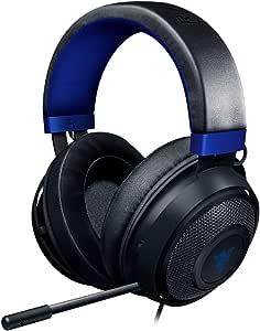 Razer RZ04-02830500-R3U1 Headset for console, Black/Blue, One size