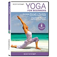 Yoga for Beginners DVD: 8 Yoga Video Routines for Beginners. Includes Gentle Yoga...