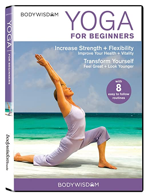 Amazon Com Yoga For Beginners Dvd 8 Yoga Video Routines For Beginners Includes Gentle Yoga Workouts To Increase Strength Flexibility Barbara Benagh Movies Tv