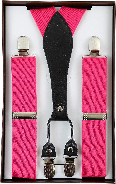 Mens Vintage Check Stripe Trouser Braces Suspenders 1920s Gatsby Peaky Blinders