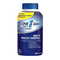 One A Day Men's Health Formula, 1Pack (300 Tablets Each)