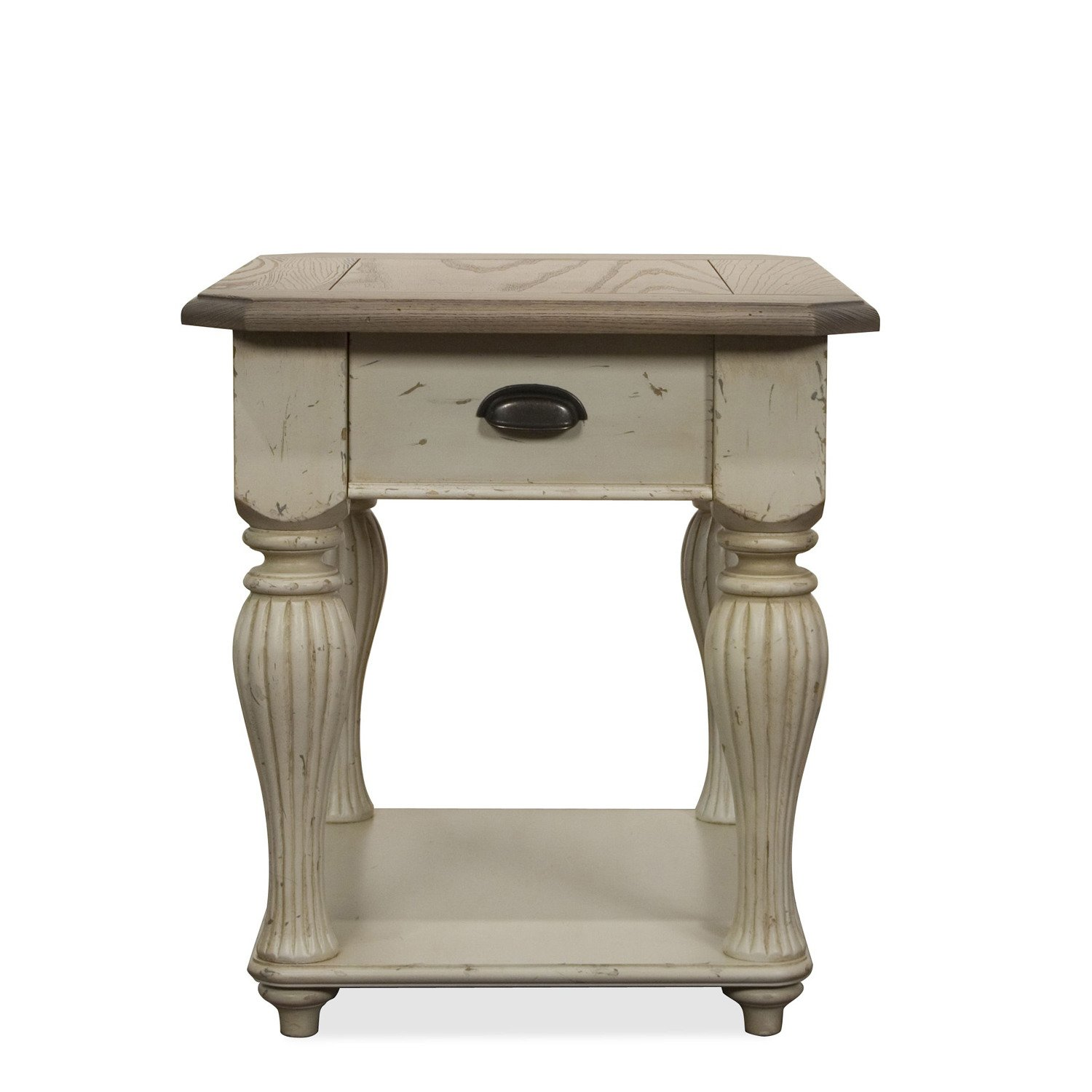 Wonderful Amazon.com: Coventry Two Tone 28 In. Rectangular End Table: Kitchen U0026 Dining