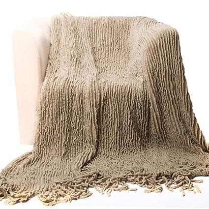 Amazon Battilo Charlotte Ruffled Acrylic Soft Decorative Throw Awesome Charlotte Ruffled Throw Blanket