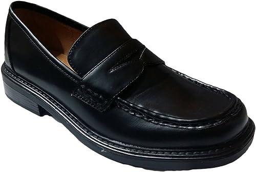 Kennedy Schuhe Mocasines Para Niño, Color Negro, Talla 40: Amazon.es: Zapatos y complementos
