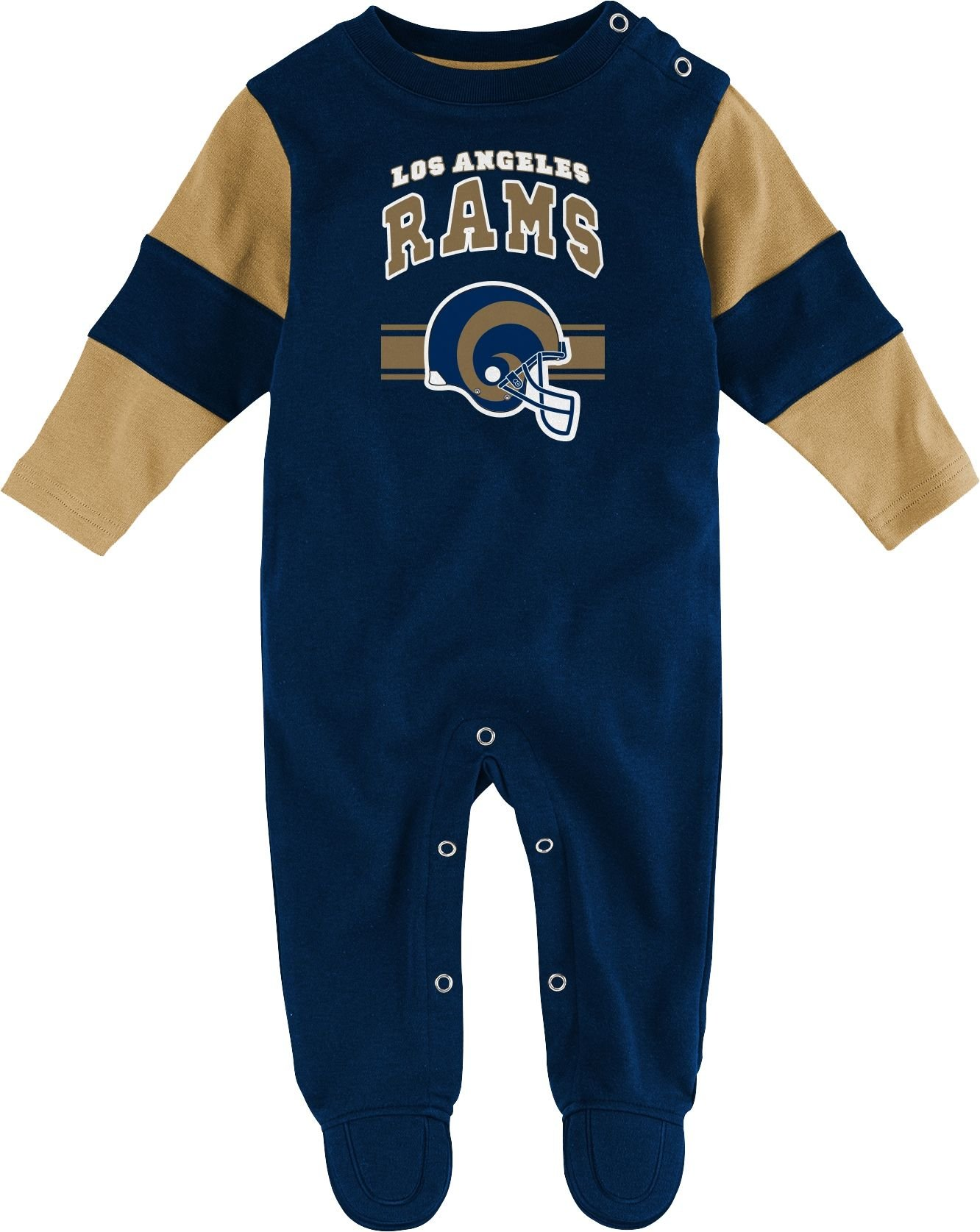 NFL Team Apparel Infant's Los Angeles Rams Newborn Coverall 0-3M