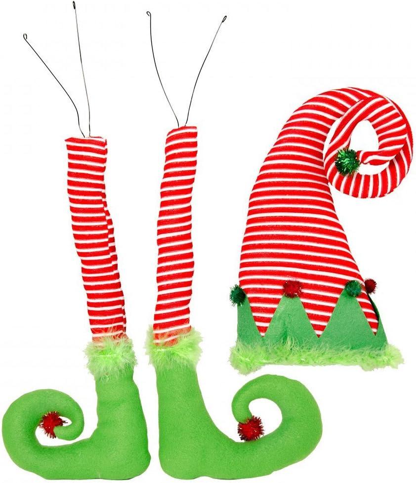 "30"" Christmas Elf Decor Kit (3 Piece Set)"