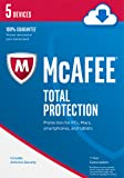 McAfee 2017 Total Protection - 5 Devices [Online Code]