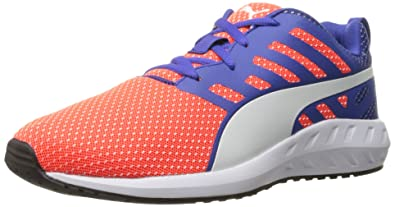 PUMA Women s Flare mesh WN s Running Shoe Red Blast White da7f90e44