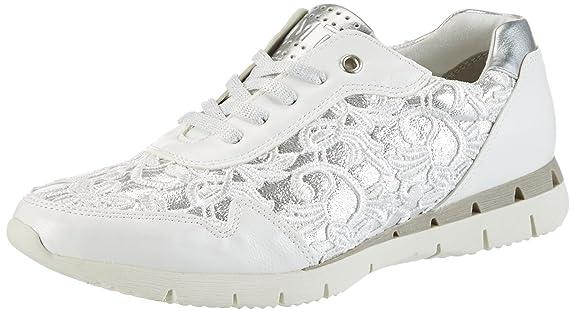 Marco Tozzi 23741, Zapatillas para Mujer, Gris (Lt.Grey Comb 248), 38 EU