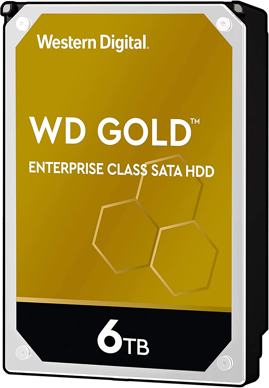 3,5 Zoll HDD Gold 6TB SATA 256MB 8,9 cm
