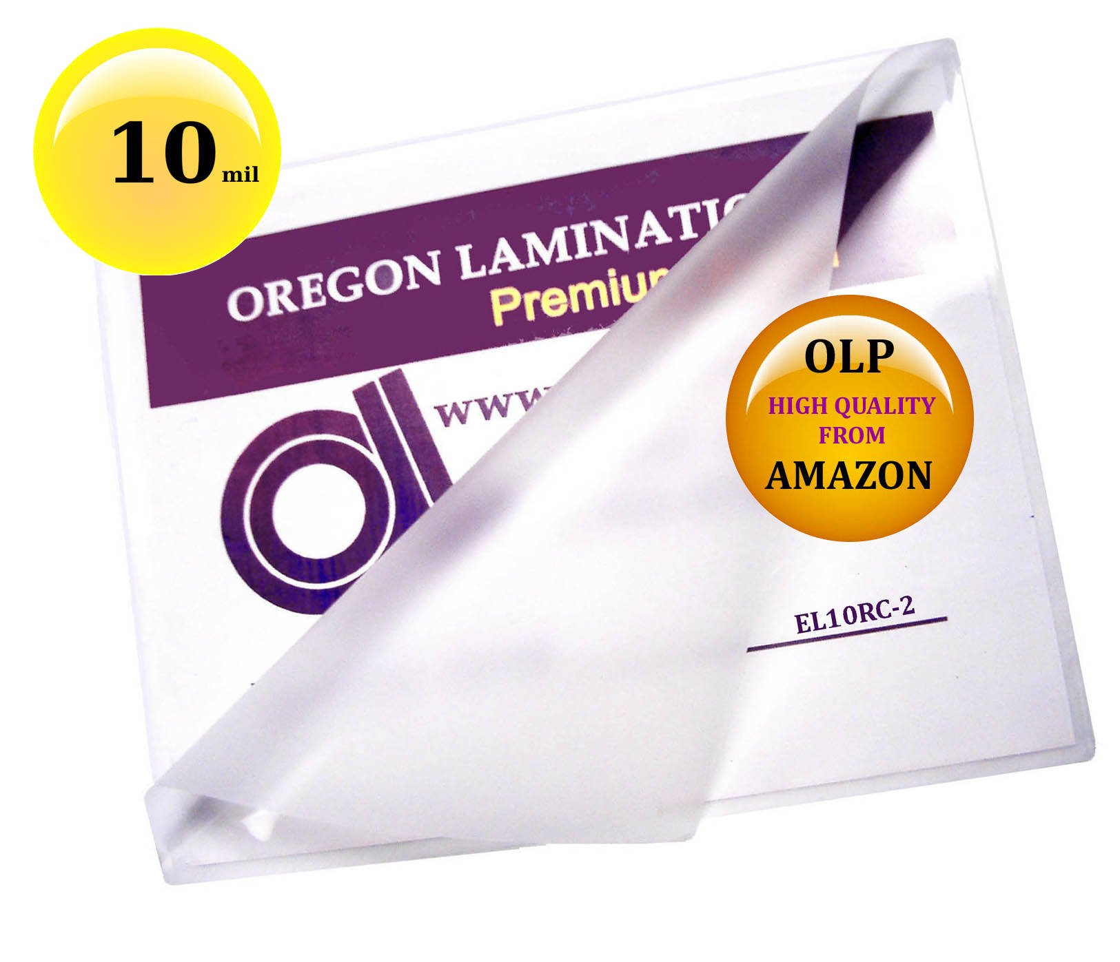 Qty 100 10 Mil Menu Laminating Pouches 12 x 18 Hot 12x18 by Oregon Lamination Premium