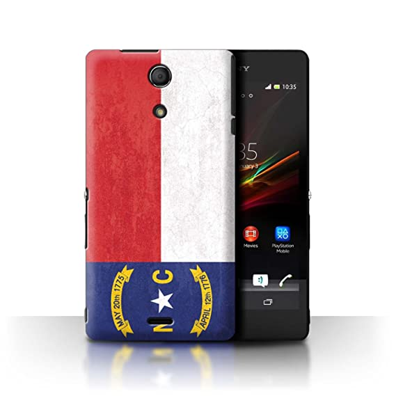 reputable site bf4a7 2f009 Amazon.com: STUFF4 Phone Case/Cover for Sony Xperia ZR/North ...